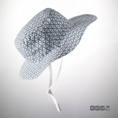 KI ET LA Ki ET LA Sun Hat Kapel Anti-UV Reversible - Graphik Style