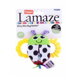 Lamaze Bitty Bite Bug Rattle