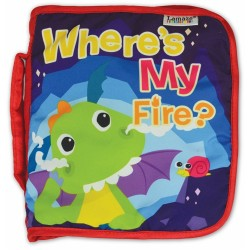 "Lamaze Flip Flap Dragon ""Where's My Fire"" Book"