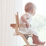 Leander High Chair (excl. Safety Bar) - Grey