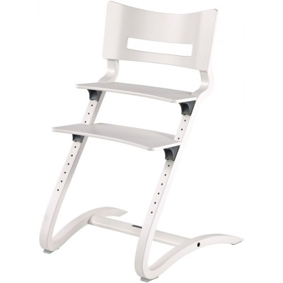 Leander High Chair (excl. Safety Bar) - White RAL9016