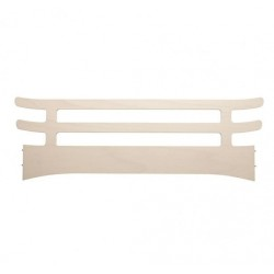 Leander Safety Guard for Jr. Bed, Whitewash..