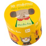 Moulin Roty Les Popipop Emotions Memory Game 10.5x9cm