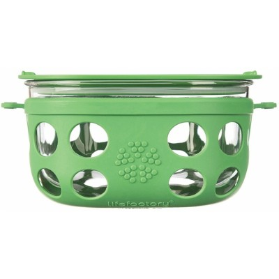 Lifefactory Glass Food Storage 950ml - Grass Green