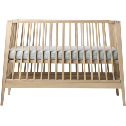Linea Baby Cot Without Mattress - Oak