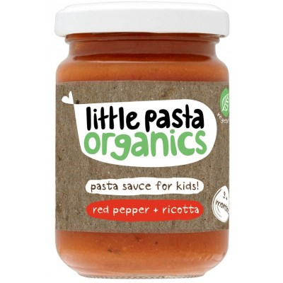 Little Pasta Organics Red Pepper & Ricotta Sauce 130g (9 mos+)