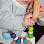 Little Wooden Dragon Pacifier Toy Holder
