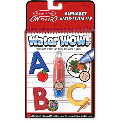 Melissa & Doug Water WOW! Water Reveal Pad - Alphabet