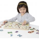 Melissa & Doug Spanish Alphabet Sound Puzzle - 27 Pieces