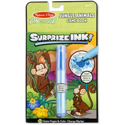 Melissa & Doug Surprize Ink! Jungle - ON the GO Travel Activity Book