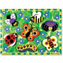 Melissa & Doug Insects Chunky Puzzle - ..
