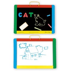 Melissa & Doug Magnetic Chalkboard and ..