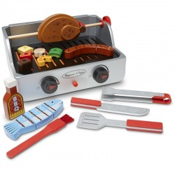 Melissa and Doug ROTISSERIE & GRILL BARBECU..