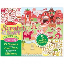 Melissa and Doug  SCRATCH & SNIFF FRUITVILL..