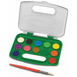 Melissa & Doug Take-Along Watercolor Se..