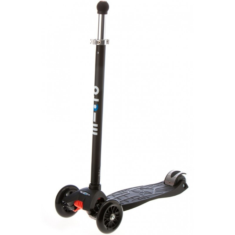 micro maxi micro scooter black with joystick. Black Bedroom Furniture Sets. Home Design Ideas