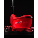 Micro Scooter Mini2Go Deluxe Plus - Red
