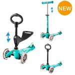 Micro Scooter Mini 3-in-1 Deluxe - Aqua