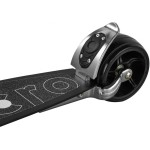 Micro Scooter Micro Rocket Scooter - Black (120mm Rubber Fat Wheel)