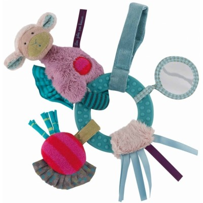Moulin Roty Les Jolis Pas Beaux Hanging Baby Activities Ring 26cm