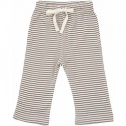 Nature Baby - Drawstring Pants- Mushroom Stripe