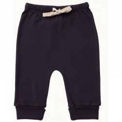 Nature Baby-Drawstring Pants- Navy