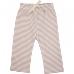 Nature Baby - Drawstring Pants - Pink Stripe