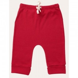 Nature Baby - Drawstring Pants - Red