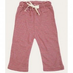 Nature Baby - Drawstring Pants - Red Stripe