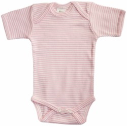 Nature Baby - Short Sleeve Bodysuit - Pink ..