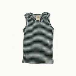 Nature Baby - Singlet - Navy Stripe