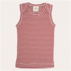 Nature Baby - Singlet - Red Stripe