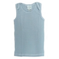 Nature Baby - Singlet - Sea Blue Stripe (1Y..
