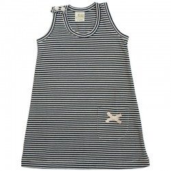 Nature Baby - Summer Dress - Navy Stripe