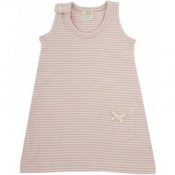 Nature Baby - Summer Dress - Pink Stripe