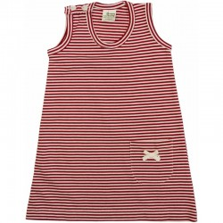 Nature Baby - Summer Dress - Red Stripe