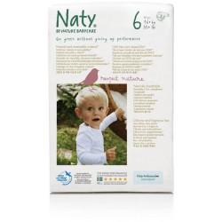 Naty by Nature Babycare Size 6 (16+kg, 35+ ..