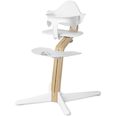 Nomi Highchair + Mini Restraint - White Oak / White