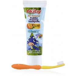 Nuby All Natural Toddler Training Toothpast..