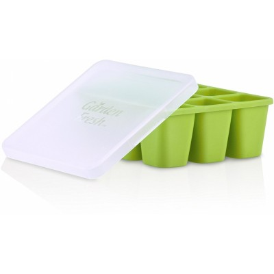 Nuby Garden Fresh Freezer Tray - Green