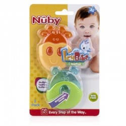 Nuby IcyBite Teether - Cow