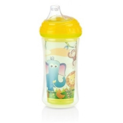 Nuby No-Spill Insulated Clik-It Cup 270ml - Animals