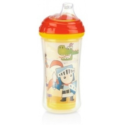 Nuby No-Spill Insulated Clik-It Cup 270ml - Knight