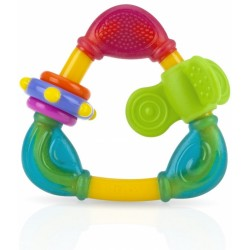 Nuby Triangle Teether with TPE - Girl