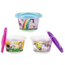 Nuby Wash or Toss Snack Cups with Lids (120..