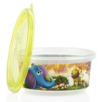 Nuby Wash or Toss Stackable Bowls with Lids (300ml x 6) - Neutral