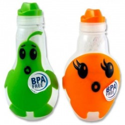 Nude Food Movers Character Bottle