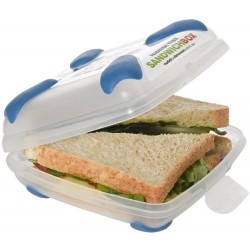 Nude Food Movers Food and Sandwich Box - Bl..
