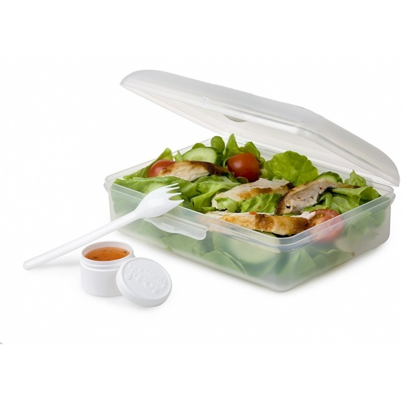 Nude Food Movers Meal Box Clear
