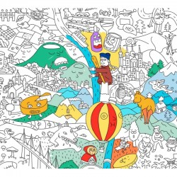 OMY Giant Coloring Posters France